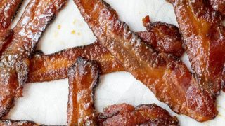 Traeger Smoked Spicy Candied Bacon