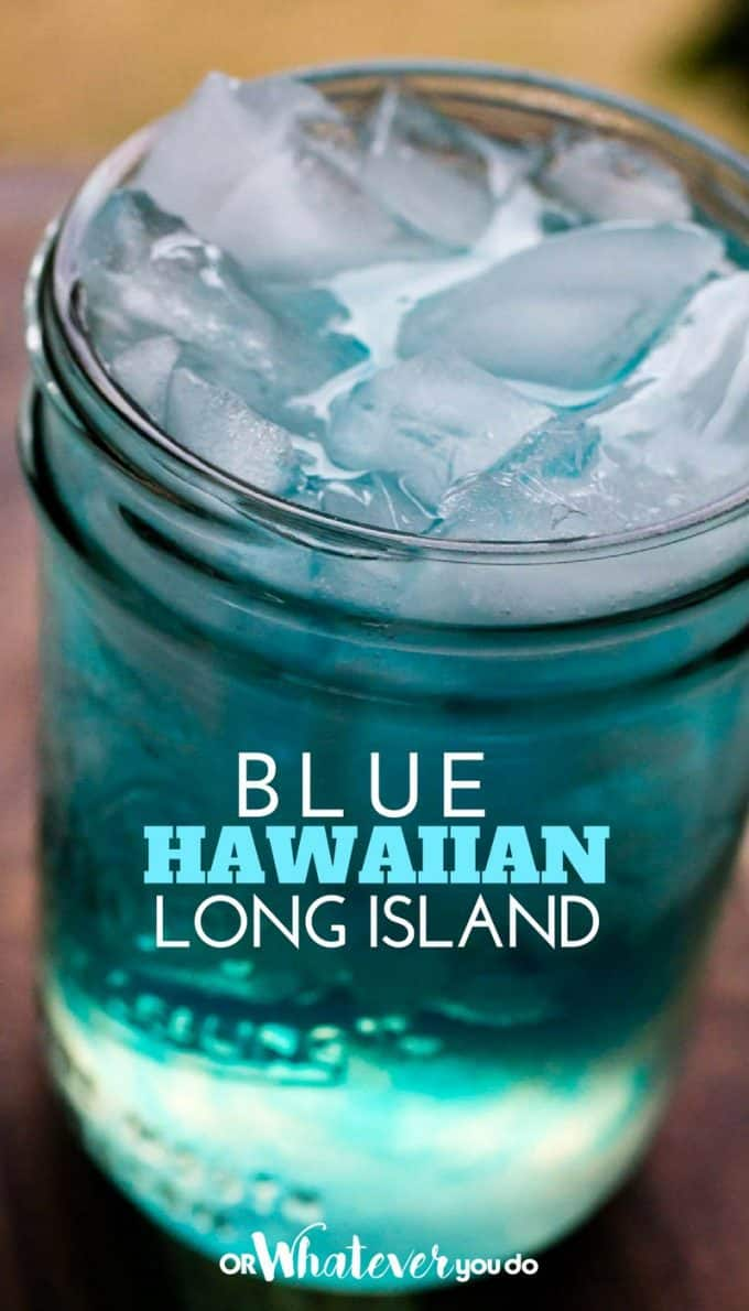 Blue Hawaiian Long Island
