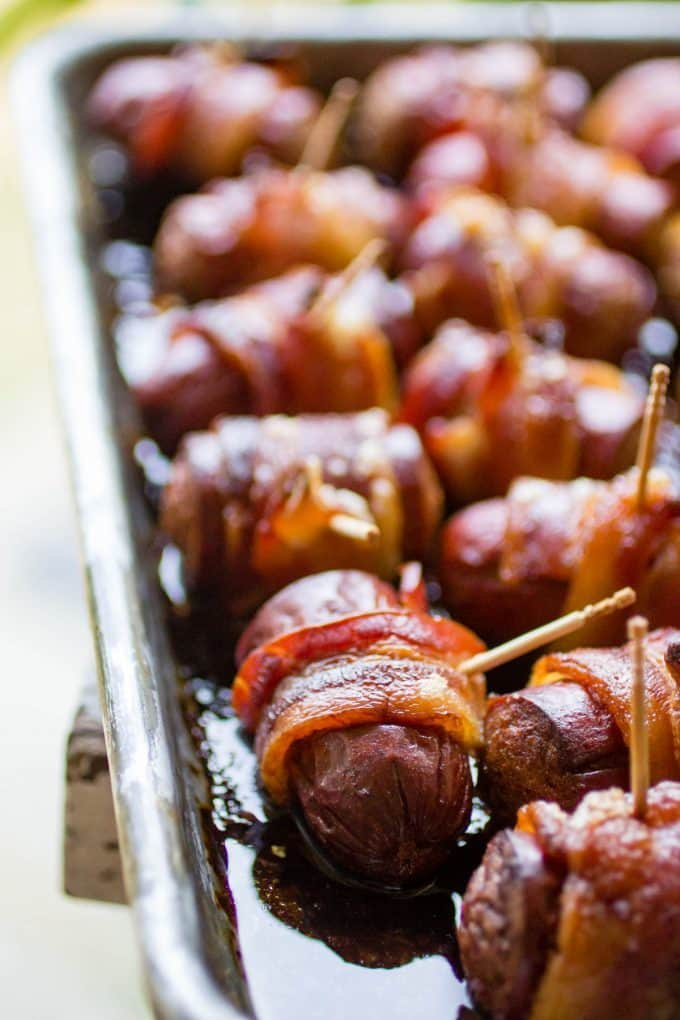 Traeger Bacon Sausage Bites Or Whatever You Do