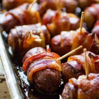 Traeger Bacon Sausage Bites