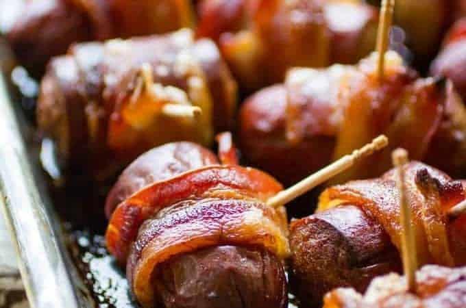 Bacon Sausage Bites