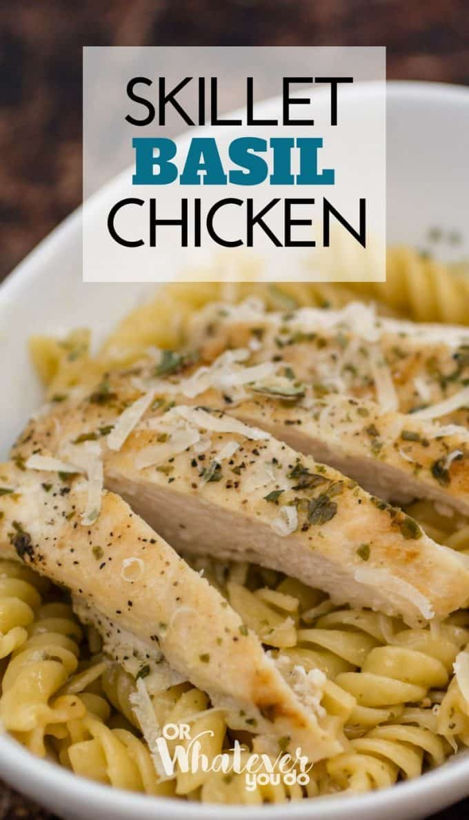 Skillet Basil Chicken