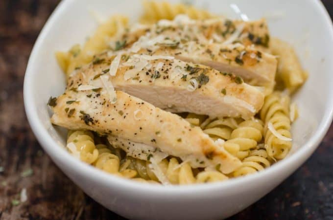 Skillet Basil Chicken