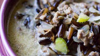 Wild Rice Hotdish Soup