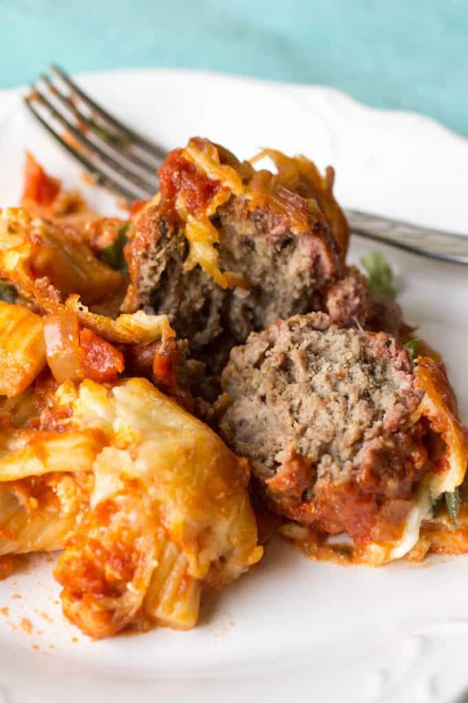 Smoked Italian Meatball Rigatoni