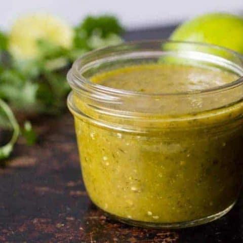 Traeger Smoked Salsa Verde