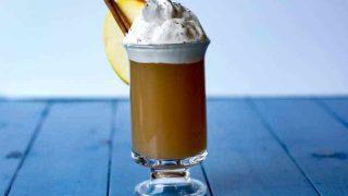 Salted Caramel Spiked Hot Apple Cider