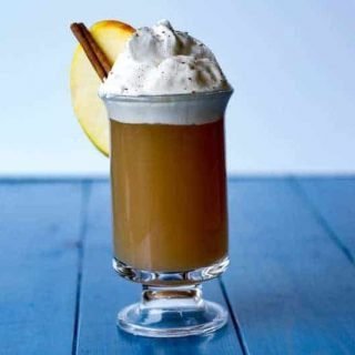 Salted Caramel Spiked Apple Cider