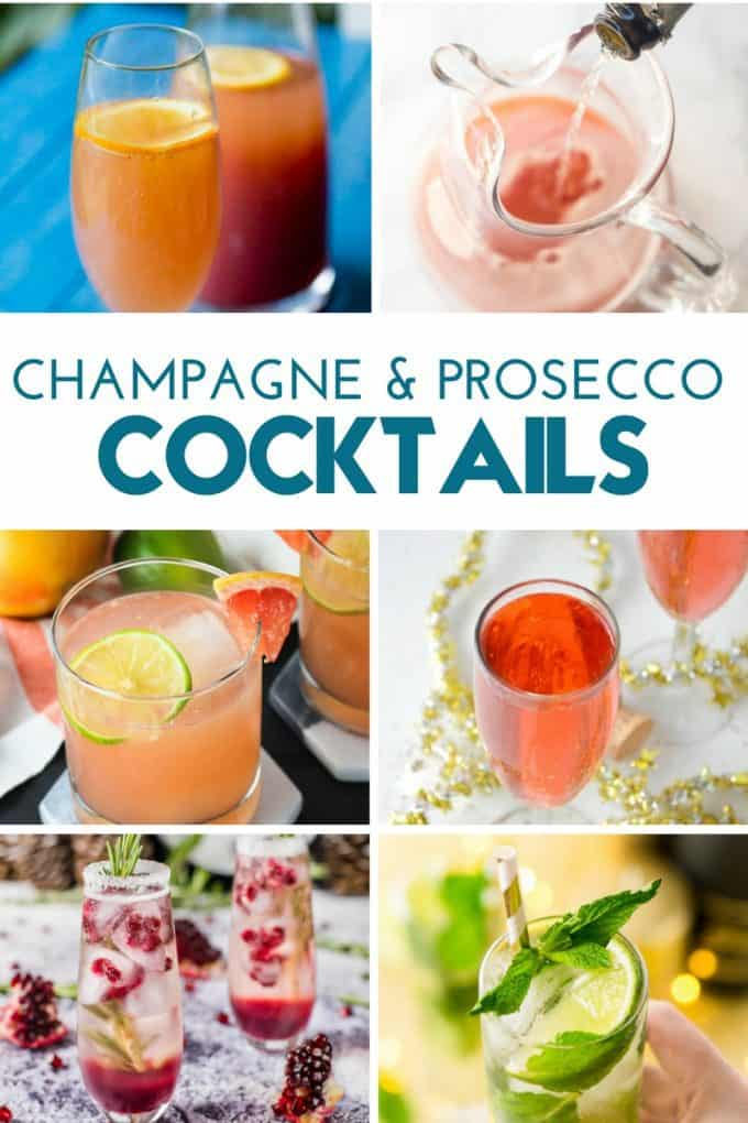 CHAMPAGNE AND PROSECCO COCKTAILS (1)