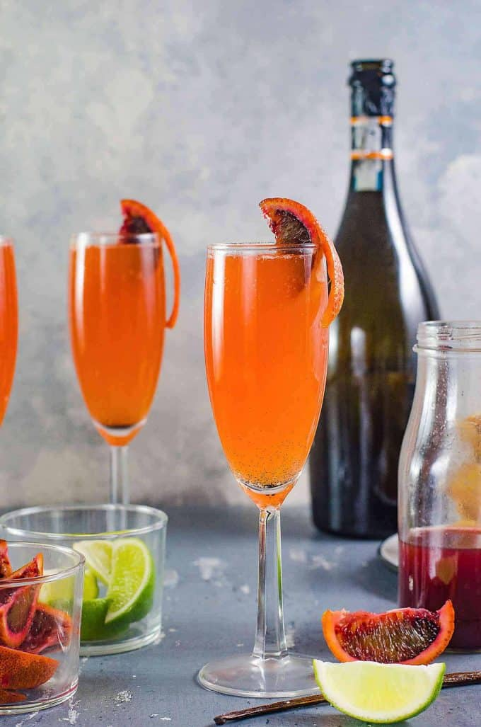 Gin-and-Blood-Orange-Mimosa