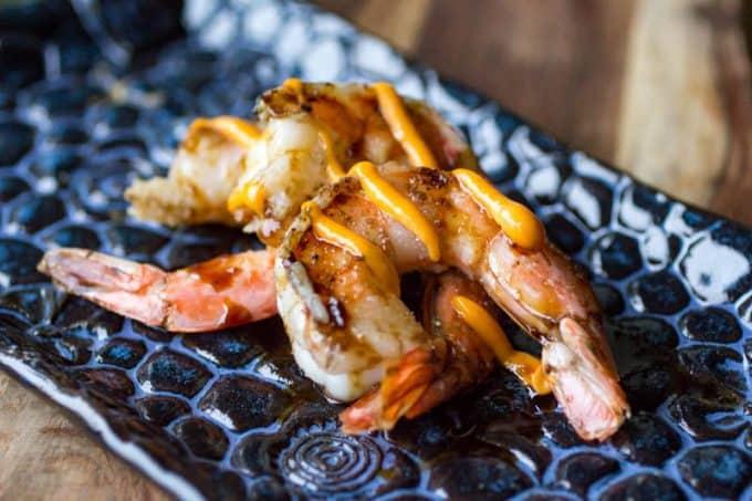 Teriyaki Smoked Shrimp