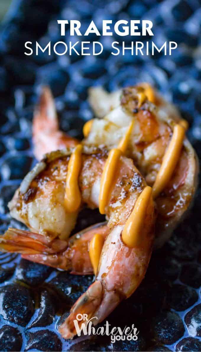 Traeger Smoked Shrimp