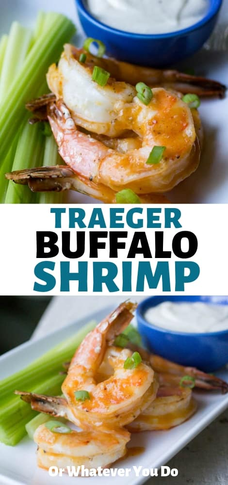 Traeger Buffalo Smoked Shrimp
