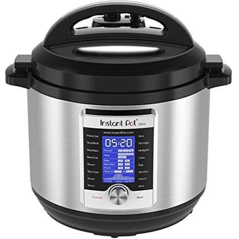 Instant Pot Ultra 8 Qt 10-in-1 Multi- Use Programmable Pressure Cooker, Slow Cooker, Rice Cooker, Yogurt Maker, Cake Maker, Egg Cooker, Sauté, Steamer, Warmer, and Sterilizer