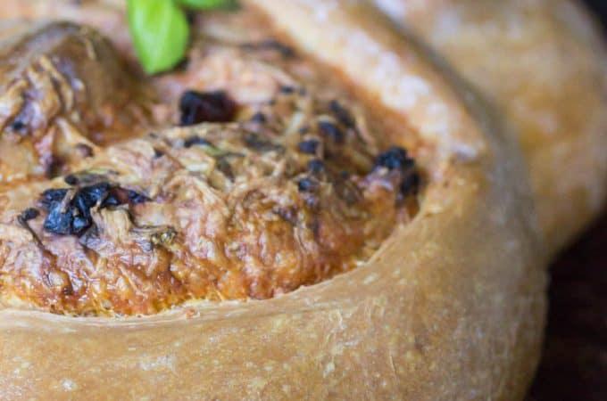 Pane Bianco Cheese-Stuffed Italian Bread