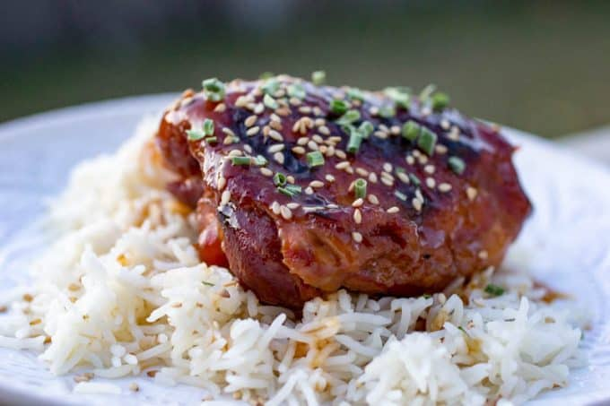 Instant Pot Honey Garlic Chicken Thighs