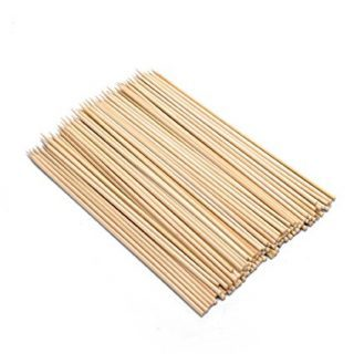 Farberware BBQ Bamboo Skewers, 75 Count, 12-Inch, Natural