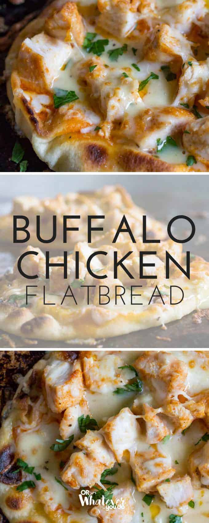 Amazing GRILLED Buffalo Chicken Flatbread is going to be your new go-to easy dinner! Fire up your grill and get to it! #traeger #woodpelletgrill #easybutton #kidsloveit #recipe #summercooking #springcooking #fallcooking