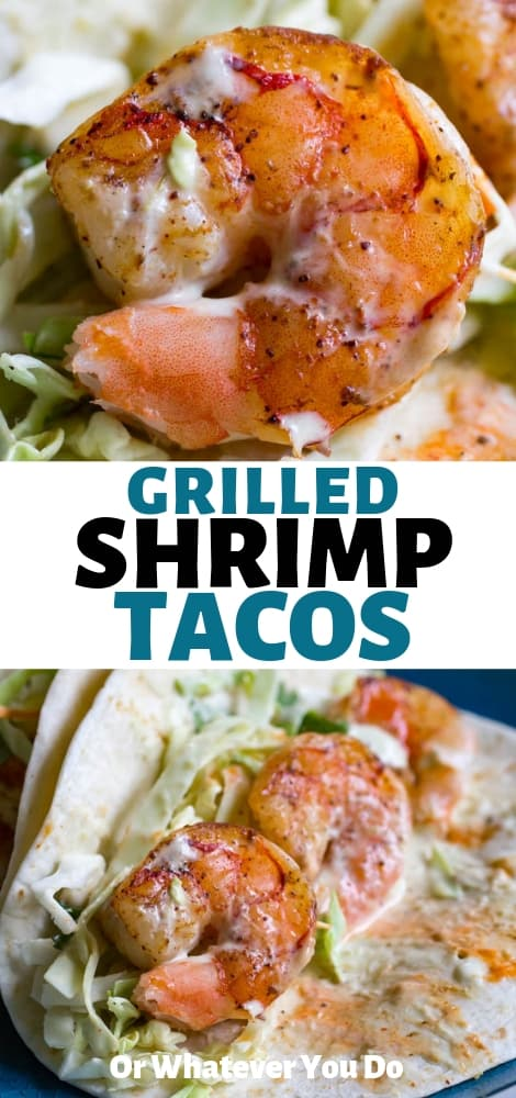 Traeger Grilled Shrimp Tacos