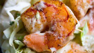 Traeger Grilled Shrimp Tacos