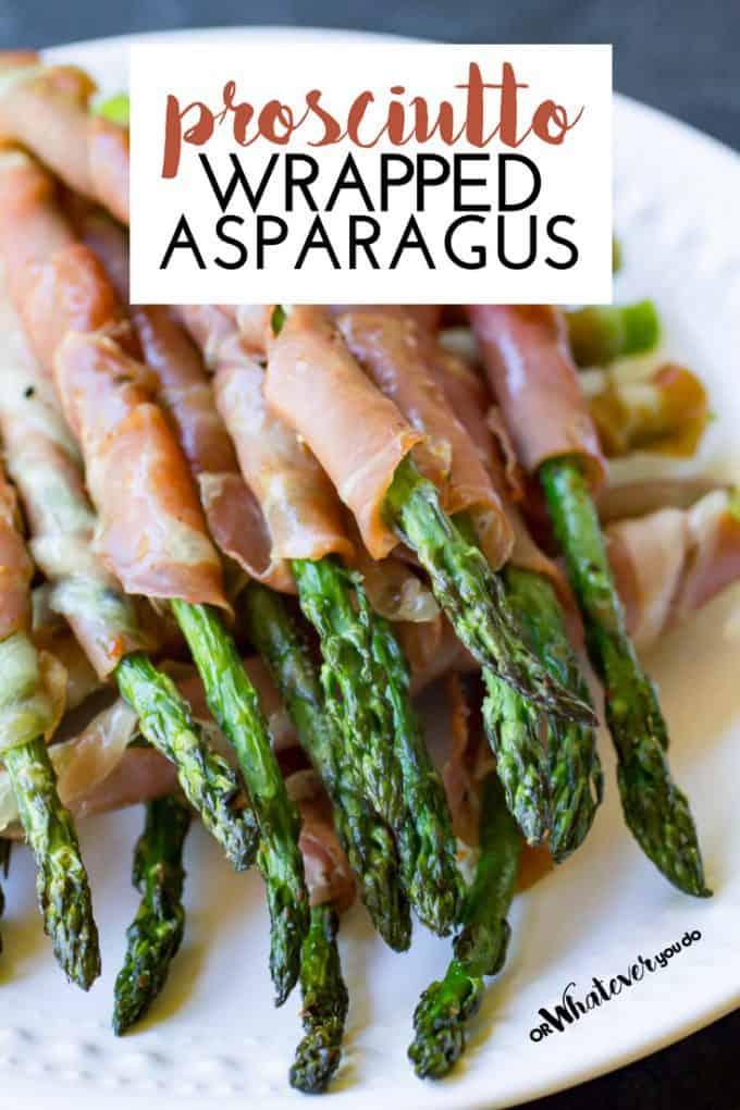 Traeger Grilled Prosciutto Asparagus