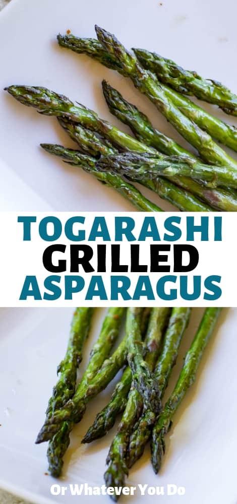 Togarashi Asparagus