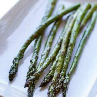 Traeger Togarashi Grilled Asparagus