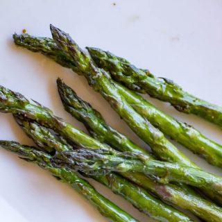 Togarashi Grilled Asparagus