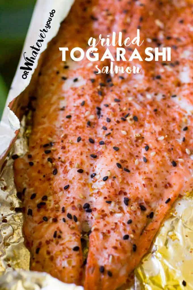 Togarashi Salmon