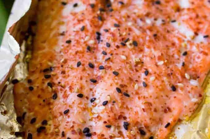Traeger Togarashi Grilled Salmon-6