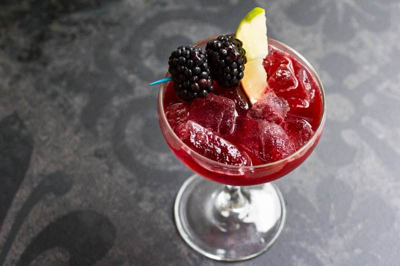 Blackberry Margarita Mimosa Sangria