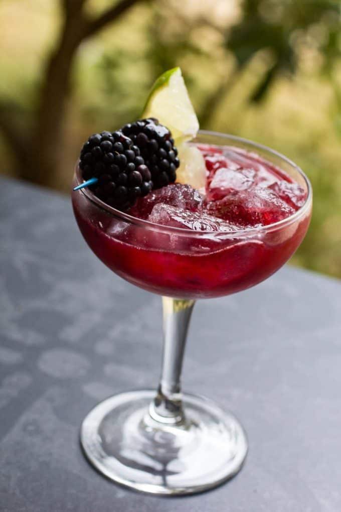 Blackberry Margarita Mimosa