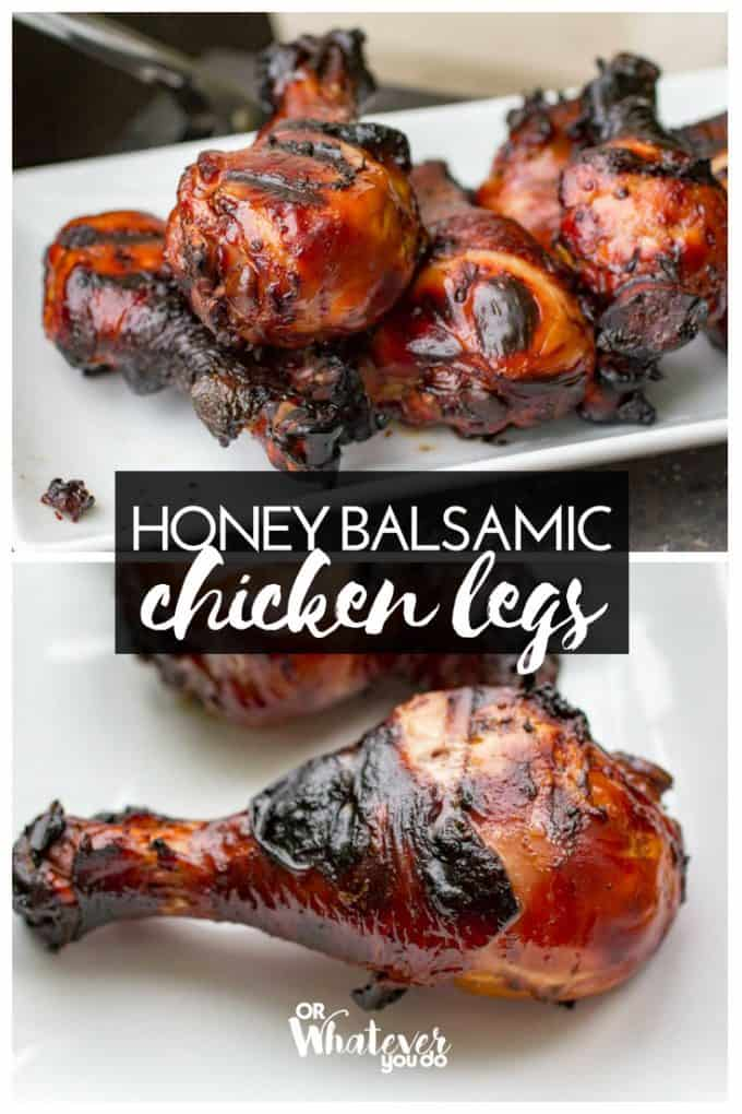 Honey Balsamic Chicken Legs