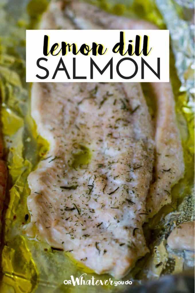 Traeger Grilled Lemon Dill Salmon