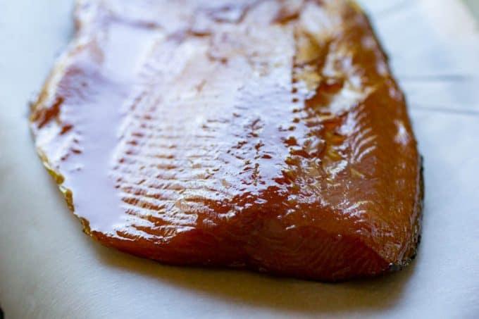 Traeger Smoked Salmon