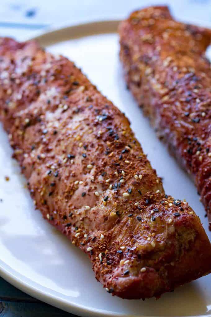 Togarashi Pork Tenderloin