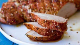 Traeger Togarashi Pork Tenderloin