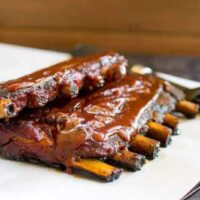 Traeger Grilled Pork Ribs