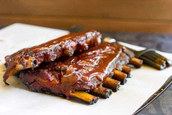 Traeger Grilled Pork Ribs