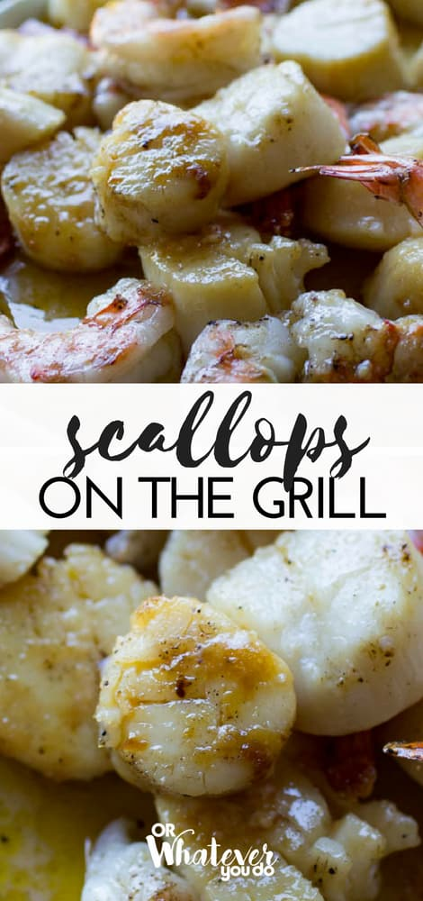 Traeger Grilled Scallops