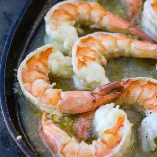 Traeger Grilled Shrimp Scampi