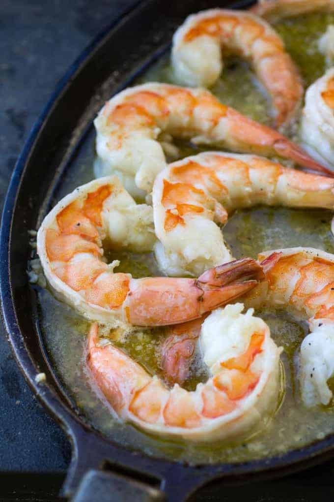 Traeger Grilled Shrimp Scampi