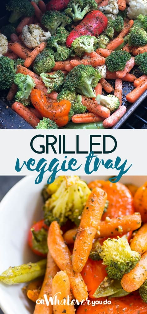 Traeger Grilled Vegetables