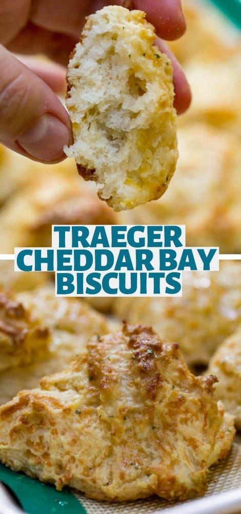 Traeger Cheddar Bay Biscuits