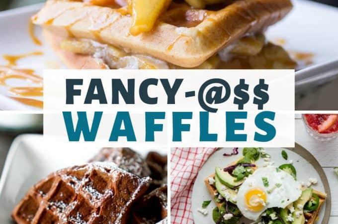 Fancy-@$$ Waffles Recipes