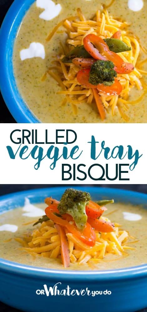 Traeger Grilled Vegetable Bisque