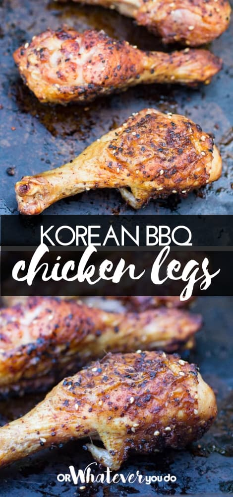 Traeger Korean Grilled Chicken Legs