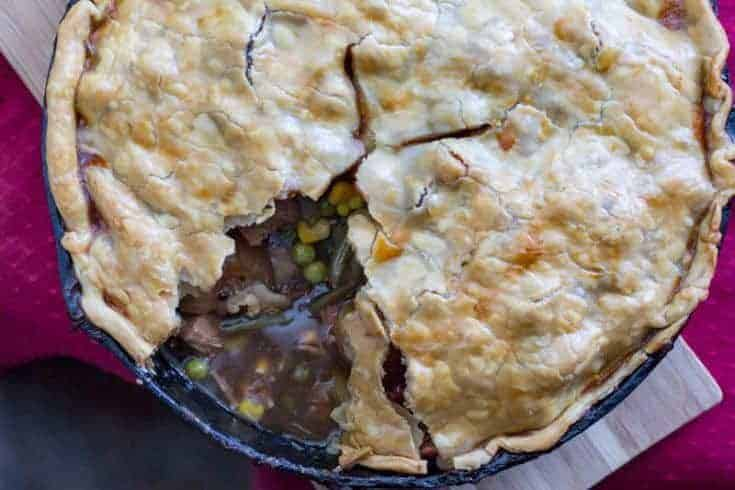 Traeger Beef Pot Pie