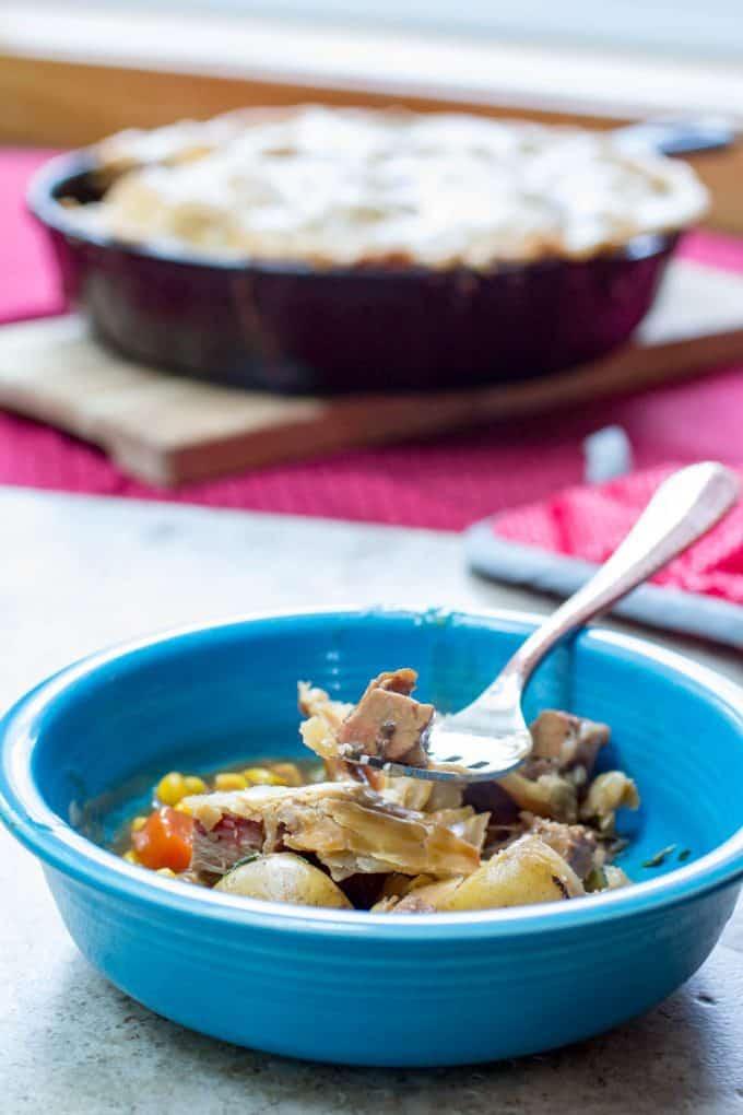 Traeger Beef Pot Pie