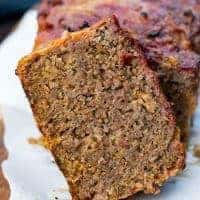 Traeger Cheeseburger Meatloaf